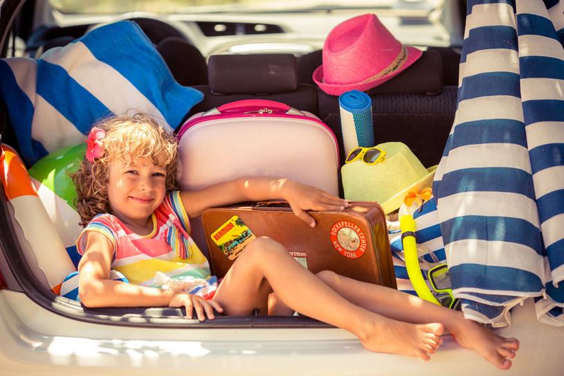 Bagażnik powinien pomieścić wszystkie najważniejsze podczas wyjazdu bibeloty /123RF/PICSEL