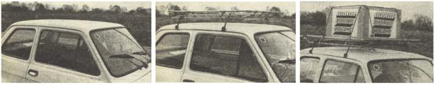 bagażniki /Motor
