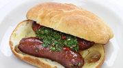Bagietka z kiełbasą i serem gruyere, czyli hot dog po francusku