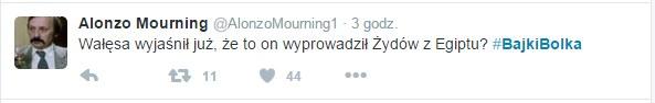 #BajkiBolka na Twitterze /Twitter