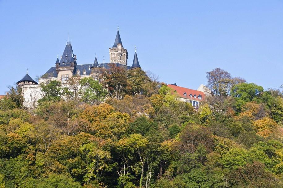 Bajkowy zamek w Wernigerode / R. & S. Hoffmann    /PAP/EPA