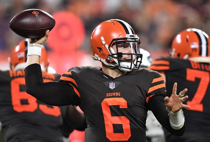 Baker Mayfield z Cleveland Browns /AFP