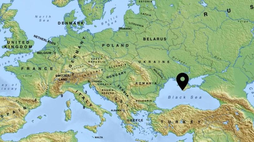 Bałakława znajduje się na południowo-zachodnim wybrzeżu Krymu /mapswire.com /domena publiczna