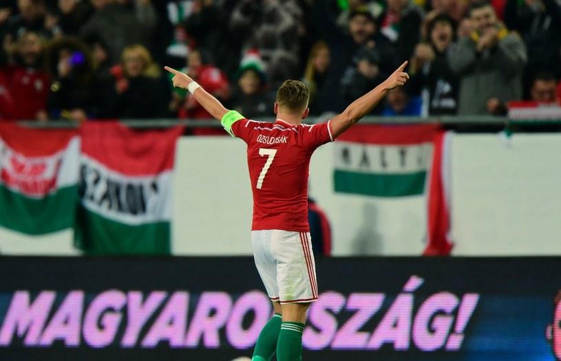 Balazs Dzsudzsak - kapitan reprezentacji Węgier /AFP