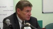 Balcerowicz: Aneksja Krymu jak Anschluss Austrii