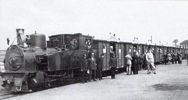 """Balkan Express"""" na archiwalnym zdjęciu. Źródło: www.giszowiec.info /&nbsp"""