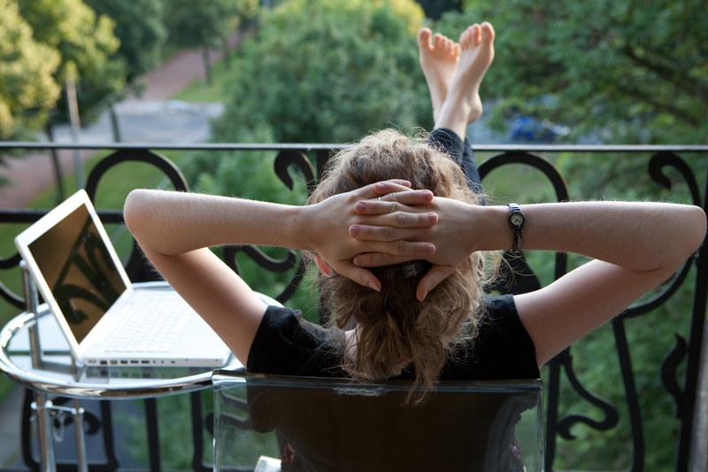 Balkon z takim widokiem to marzenie wielu z nas /© Panthermedia