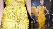 Balmain: Historia żółtej sukienki