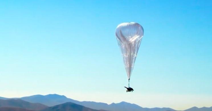 Balon Loon dostarczający internet /materiały prasowe