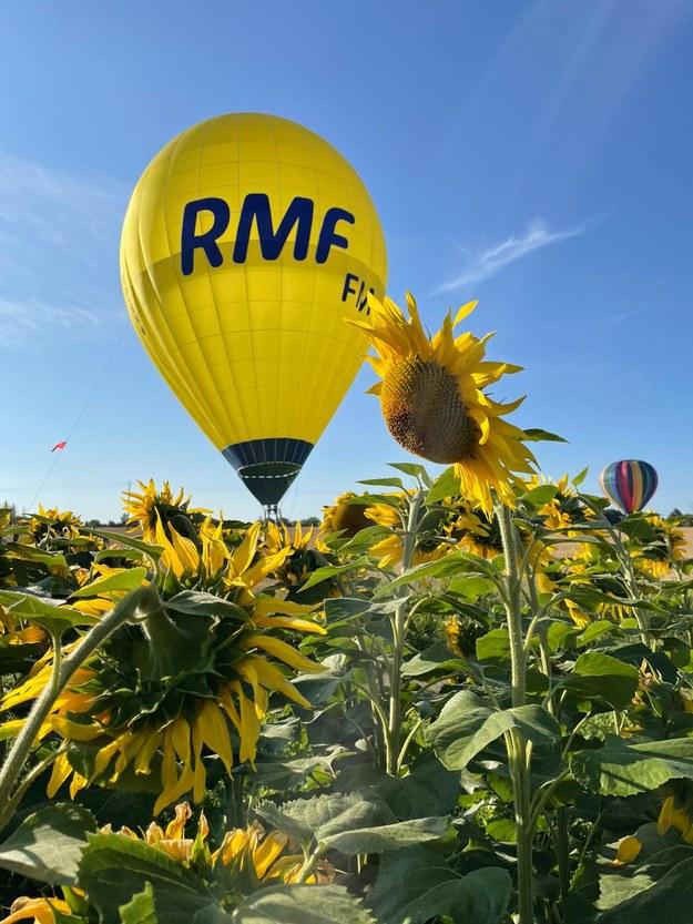 Balon RMF FM /Marek Michalec / Pilot balonu RMF FM /RMF FM