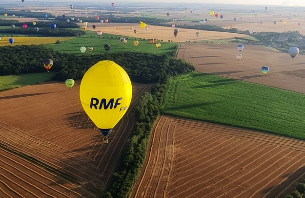 Balon RMF FM /Marek Michalec / Pilot balonu RMF FM /