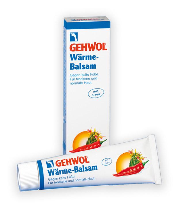 Balsam natłuszczający do zimnych stóp, do suchej skóry Gehwol /INTERIA.PL/materiały prasowe