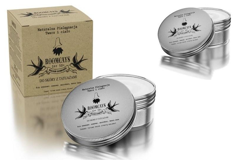 Balsam ochronny do skóry z tatuażami Roomcays /INTERIA.PL/materiały prasowe