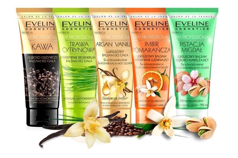 Balsamy do ciała z serii SPA! Professional Eveline Cosmetics /materiały prasowe