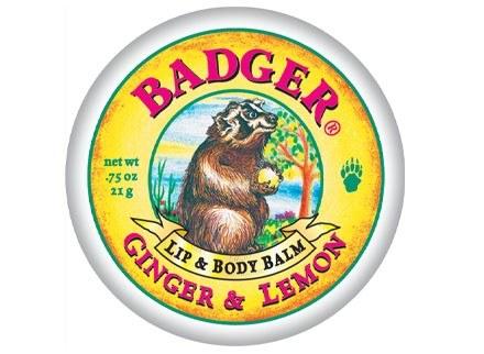 Balsamy do ust i ciała, Badger /materiały prasowe