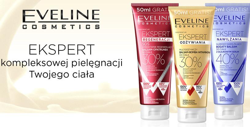 Balsamy Eveline Cosmetics /materiały prasowe