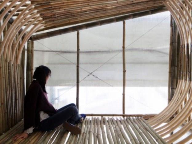 Bambusowe domki dla bezdomnych już wkrótce w całej Azji (Fot. AFFECT-T) /materiały prasowe