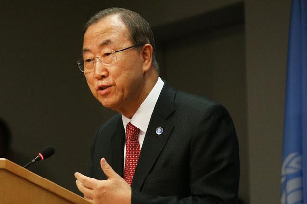 Ban Ki Mun /AFP