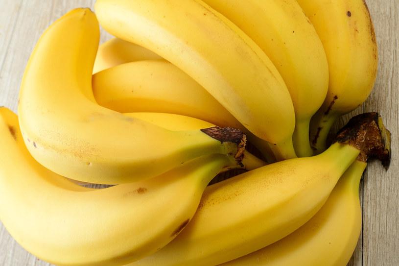 Banany są cennym składnikiem diety /123RF/PICSEL