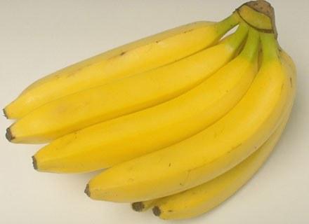Banany są polecane w diecie żółtej