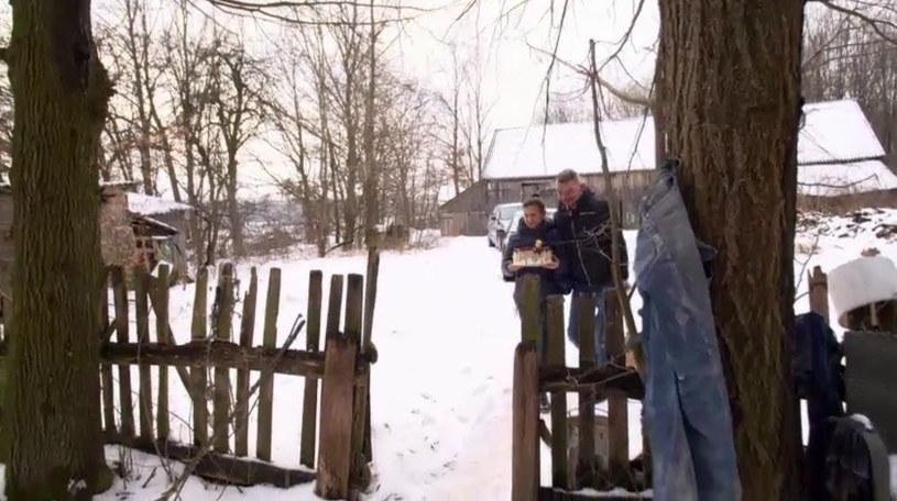 Bandziorek i Danusia odwiedzili mamę /Polsat