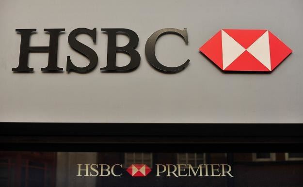 Bank HSBC musi zapłacić 10,5 mln funtów grzywny /AFP