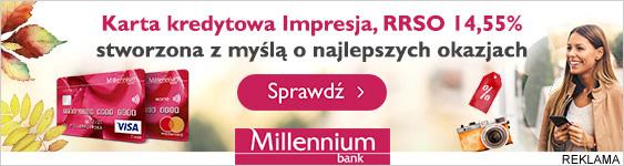 Bank Millenium Content Box /materiały promocyjne