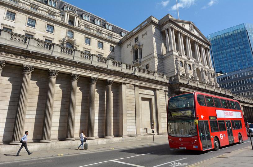 Bank of England, siedziba w Londynie /123RF/PICSEL