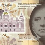 Bank of Scotland wprowadzi do obiegu 10 funtów z plastiku