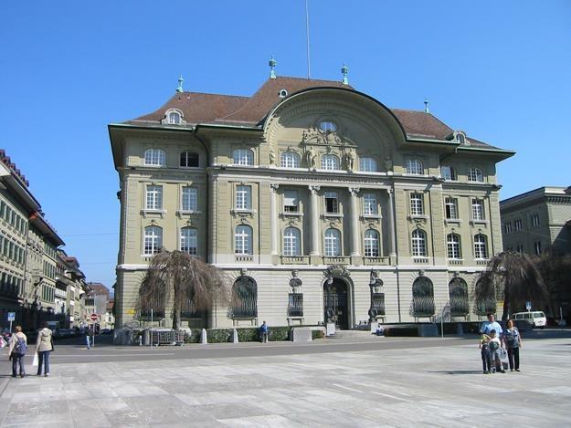 Bank Szwajcarii, siedziba w Bernie /Informacja prasowa