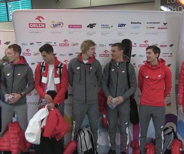 Bańka i Nowicki przywitali polskich skoczków. Wideo