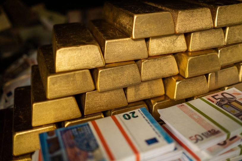Banki centralne gromadzą coraz większe rezerwy w walutach zagranicznych oraz złocie /123RF/PICSEL