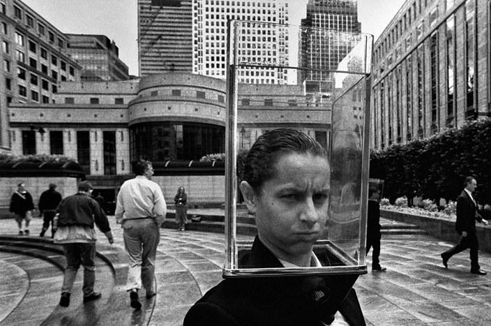 Banki w Londynie /Bogdan Frymorgen /RMF FM