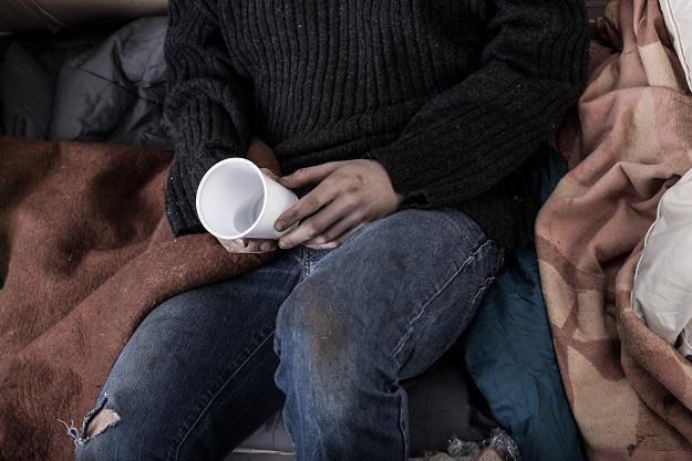 Banki Żywności pomagają codziennie ludzom w potrzebie /AFP