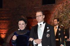 Bankiet Noblowski w ratuszu w Sztokholmie