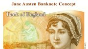 Banknot 10-funtowy z Jane Austen w 200 lat po jej śmierci