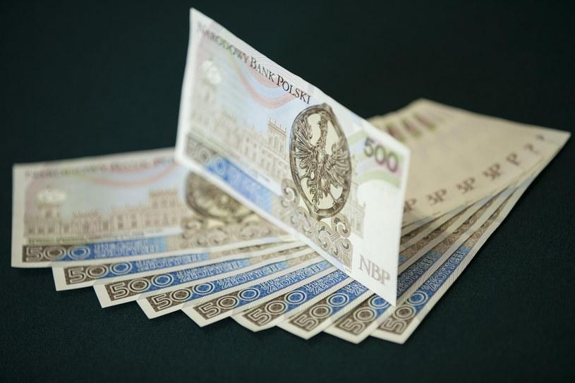 Banknoty o nominale 500 zł są dostępne w wybranych bankomatach /Informacja prasowa