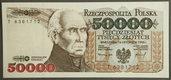 Banknot 50 000 zł