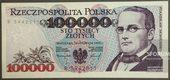 Banknot 100 000 zł
