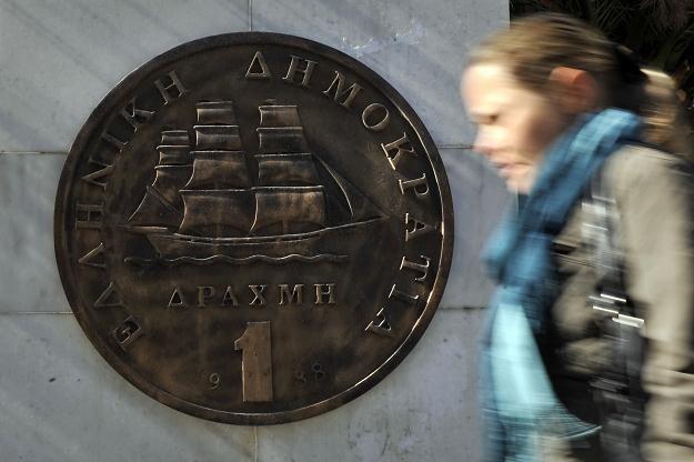 Bankructwo Grecji może spowodować rozpad strefy euro /AFP
