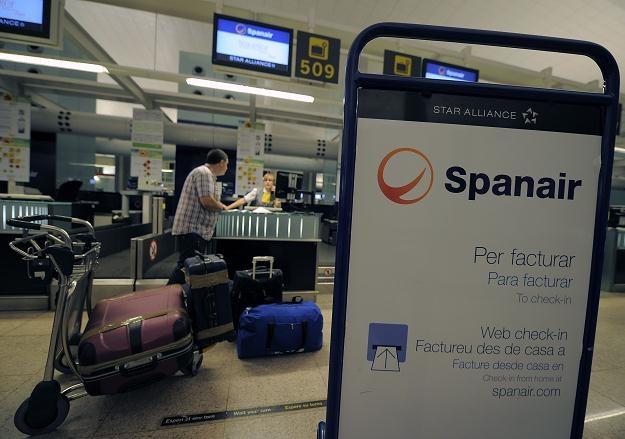 Bankructwo Spanair spowodowało zamieszanie na lotniskach /IAR/PAP