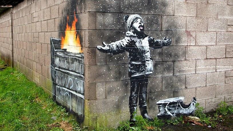 Banksy powraca i tym razem zwraca uwagę na wielki problem smogu w Europie /Geekweek