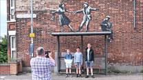 Banksy powrócił? Hit w nadmorskich miasteczkach