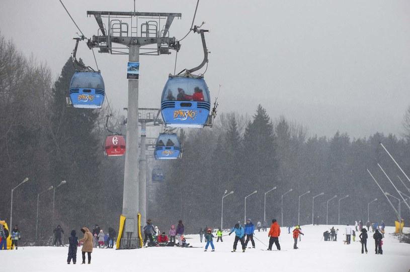 Bansko to jeden z najpopularniejszych bułgarskich kurortów narciarskich, zdjęcie archiwalne z 2018 roku /NIKOLAY DOYCHINOV  /AFP