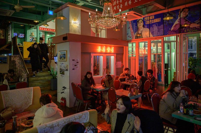 Bar w Seulu o tematyce... północnokoreańskiej /AFP