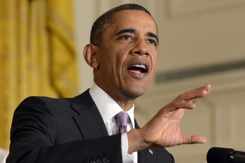 """Barack Obama chowa się za skandalami"" /PAP/EPA"