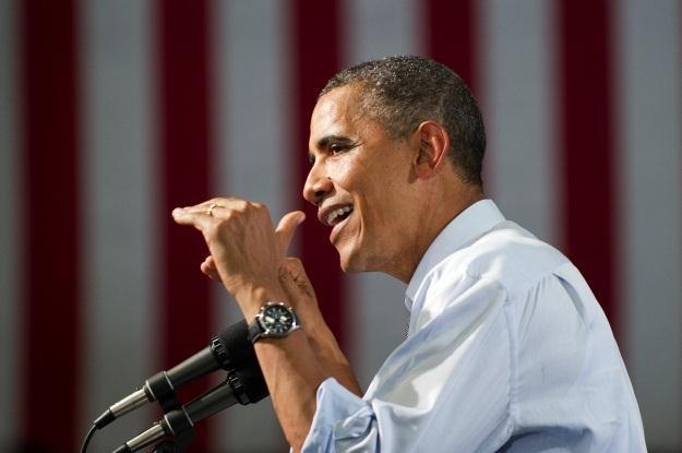 Barack Obama dotrze do użytkowników smartfonów? /AFP