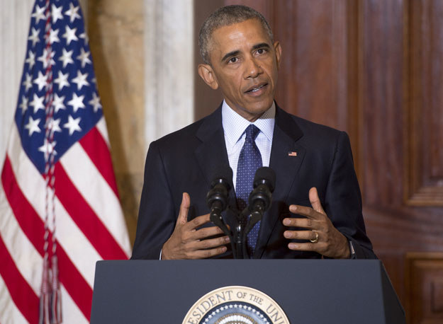 Barack Obama: Dżihadyści tracą kontrolowane przez siebie obszary /AFP