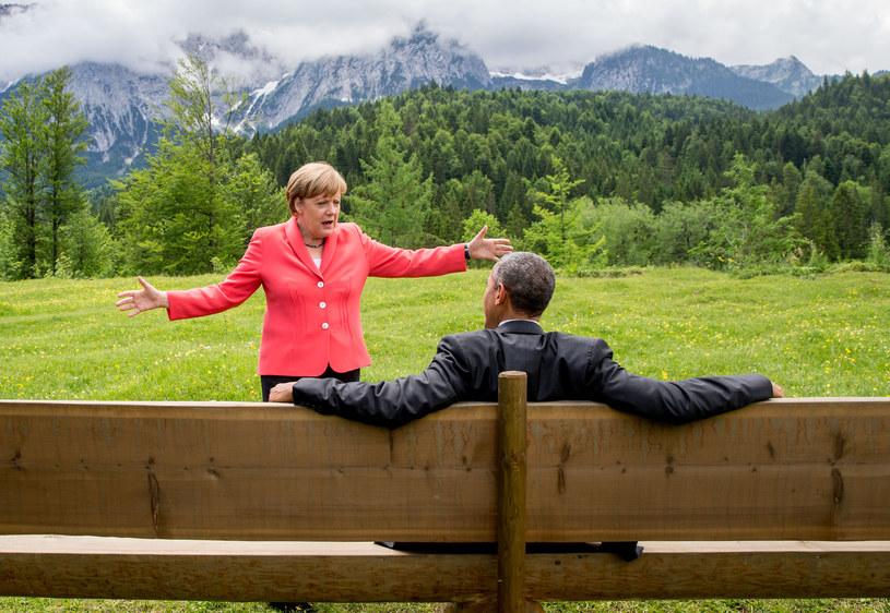 Barack Obama i Angela Merkel nie mieli trudności w relacjach /MICHAEL KAPPELER / POOL / AFP /AFP