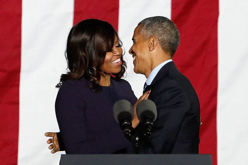 Barack Obama i jego żona Michelle uchodzą za niezwykle zgodną parę /Taylor Hill/WireImage /Getty Images